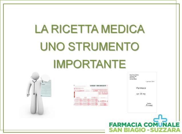 LA RICETTA MEDICA- serata di informazione – 17 marzo
