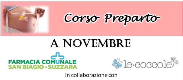 CORSO PREPARTO – novembre