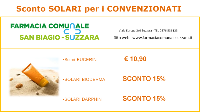 Solari – SCONTI SPECIALI per i convenzionati
