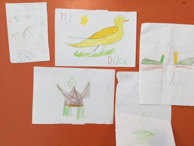 I bimbi della farmacia sono veri artisti